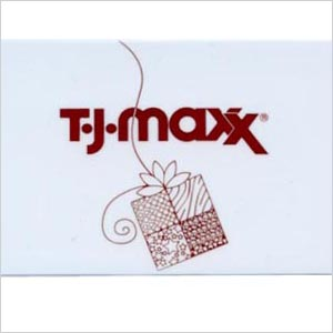 Gift card from T.J.Maxx