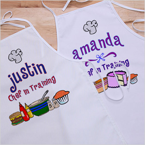 Personalization Mall Personalized Kids Apron