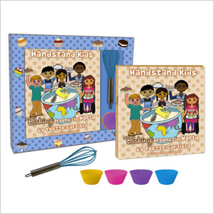Handstand Kids Baking Around the World Cookbook Kit