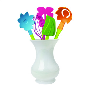 Cook in Color Bloom Utensil Set