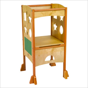 GuideCraft Kitchen Helper Step Stool