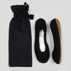 White + Warren Cashmere Slippers