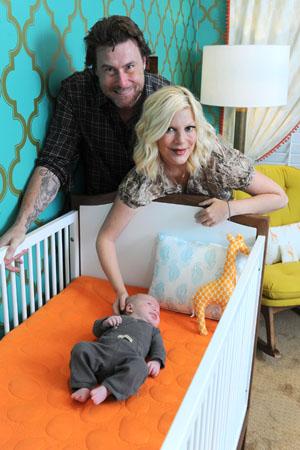 Photos of Tori Spelling's baby nursery