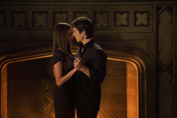 Things heat up between Elena and Damon