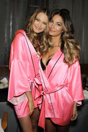 Bahati Prinsloo & Lily Aldridge