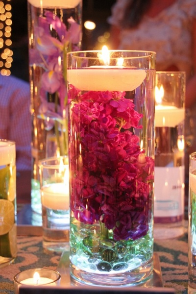 weddingcenterpiece1 - Beautiful decorated candles