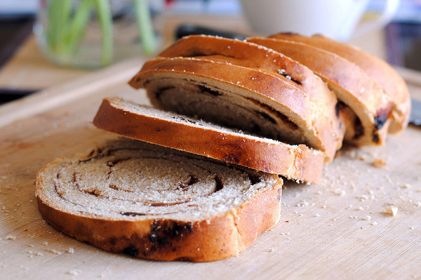 Cinnamon raisin bread
