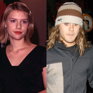 Claire Danes and Jared Leto