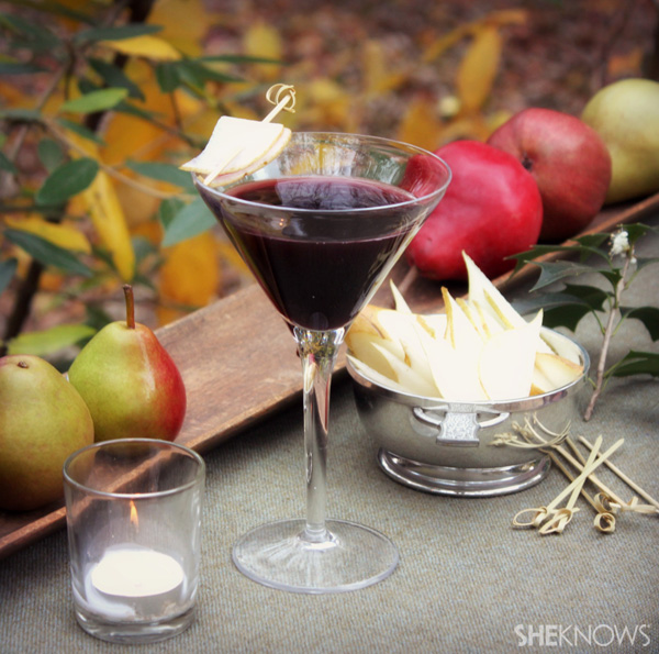 Berry & Pear Tree Martini