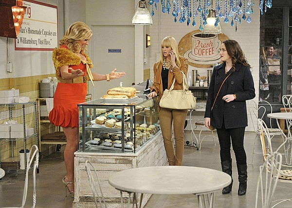 2 Broke Girls' Sophie, Caroline and Max