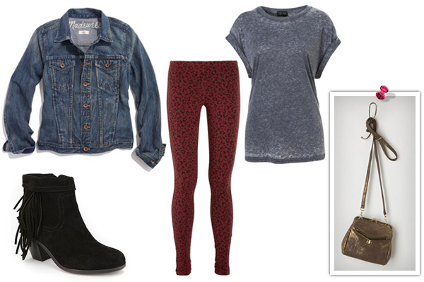 Outfits that are head-to-toe hipster