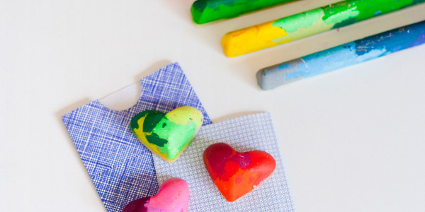 homemade crayons