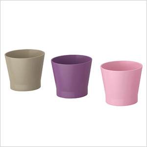 planters from ikea