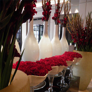 Flower arranging in Barcelona