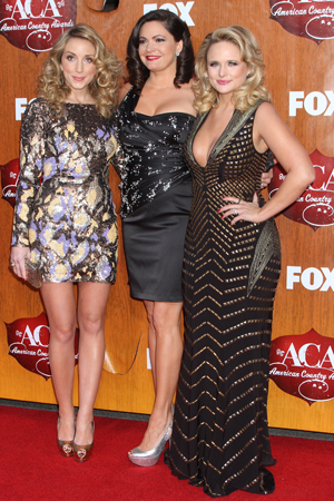Miranda Lambert at the 2011 American Country Awards