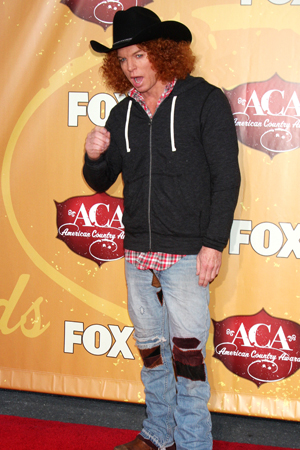Carrot Top Worst Dressed 2010 American Country Awards
