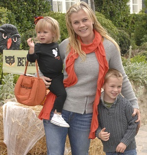 Ali Sweeney with kids Megan and Ben