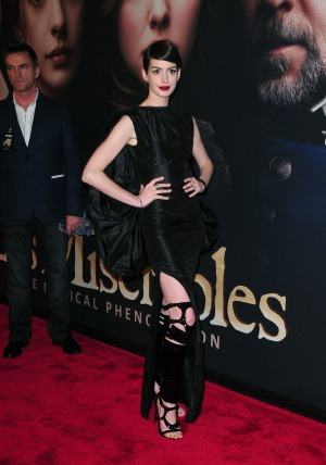 Les Miserables actress Anne Hathaway proves that you can have a bad