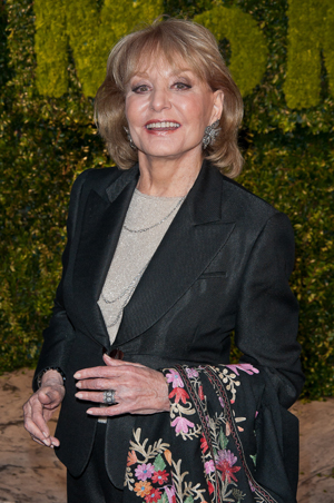 Barbara Walters at Daytime Emmys