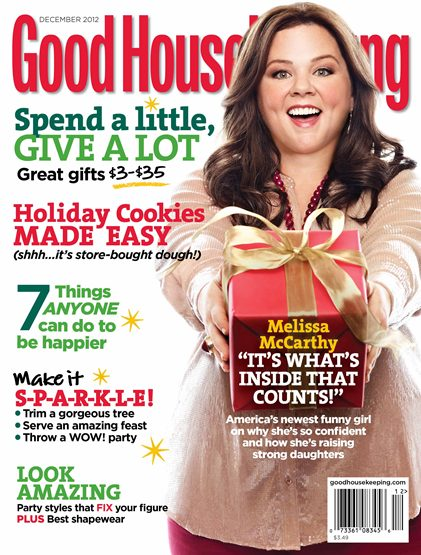 Melissa McCarthy on Good Housekeeping