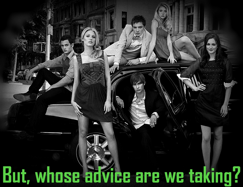 Gossip Girl Cast- Who's Gossip Girl?