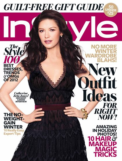 Catherine Zeta-Jones on InStyle