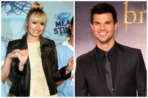 Demi Lovato and Taylor Lautner as a couple?