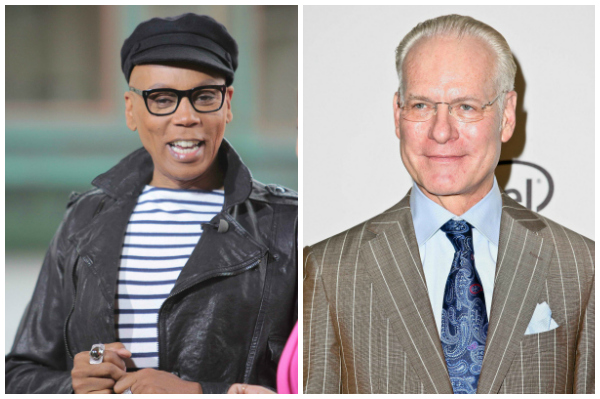 RuPaul and Tim Gunn as a couple?