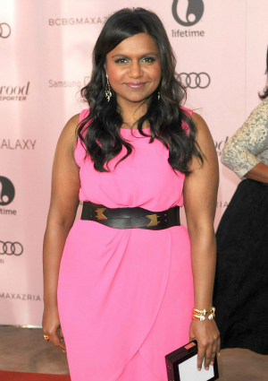 Actress Mindy Kaling of The Mindy Project