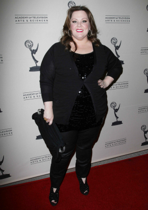 Actress Melissa McCarthy of Mike & Molly