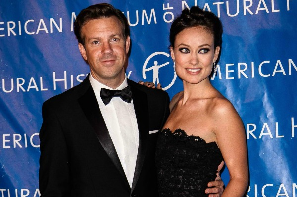 Jason Sudeikis and Olivia Wilde in New York City