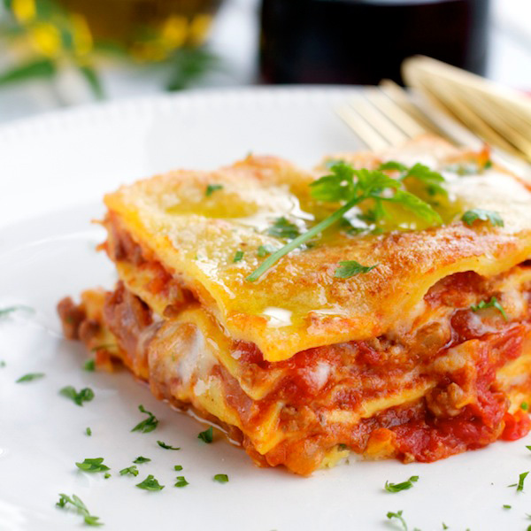 Pasta Lasagna Recipe — Dishmaps