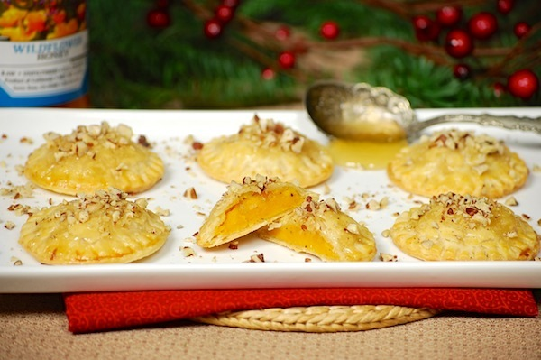 Mini butternut squash pie pockets
