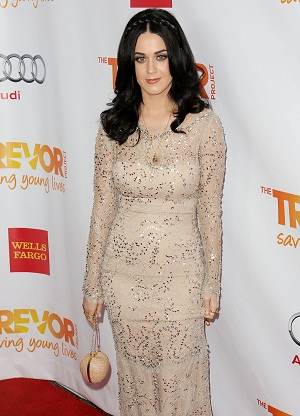 Katy Perry at Trevor Live