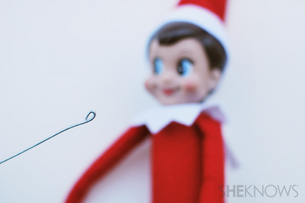 Loop wire - making your Elf on the Shelf bendable