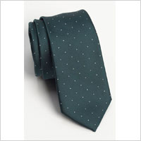 Green microdot tie | Sheknows.ca