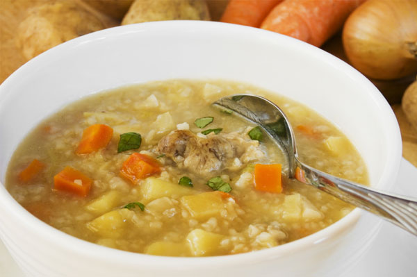 A warming, healthy winter soup