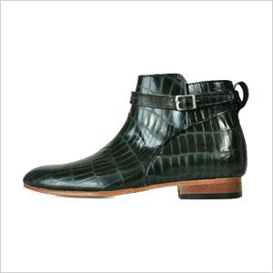 green croc boots