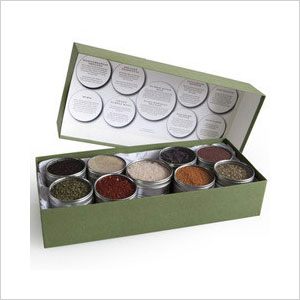 Vegetarian spice collection