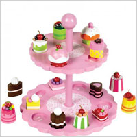 high tea shape sorter