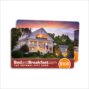 Bed and Breakfast gift cards