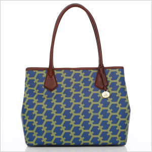 Hexagon anytime tote bag