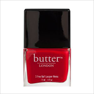 Come to bed red nail polish