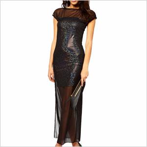 Holographic Maxi dress