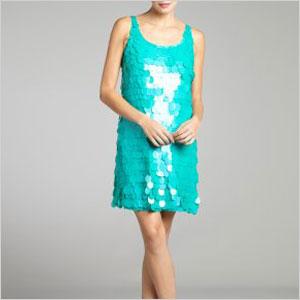 Paillette swing dress