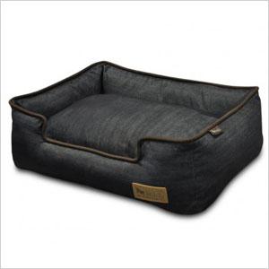 Urban demin pet bed