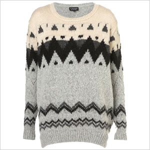 Nordic chunky sweater