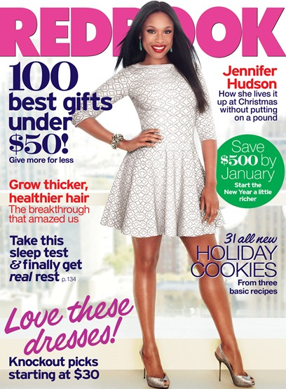 Jennifer Hudson on Redbook 