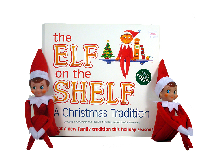 The Elf on the Shelf by Carol V. Aebersold