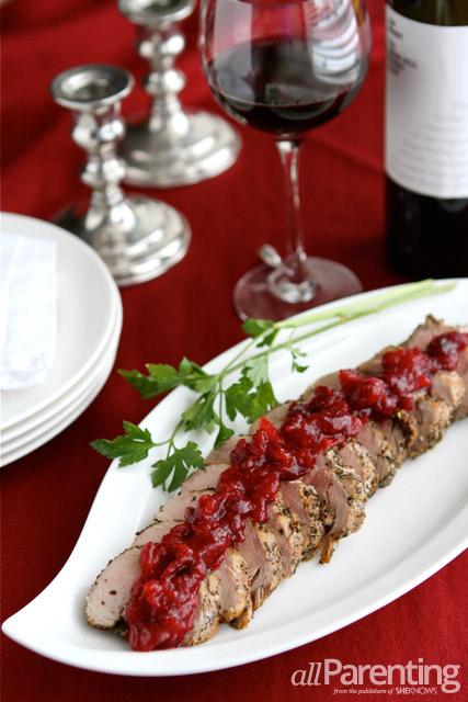 Pork Cranberry Relish